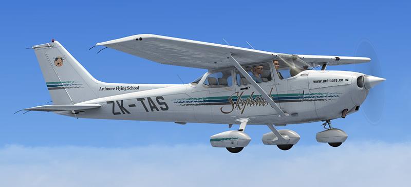 A2A Cessna C172 ZK-TAS