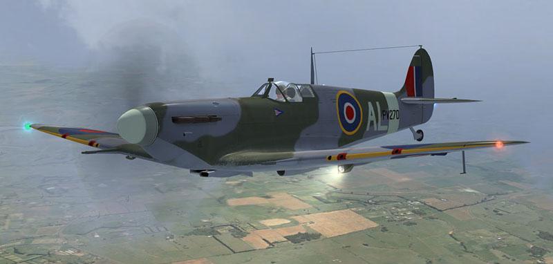 A2A WOP3 Spitfire MkIIb PV270