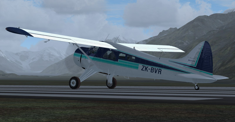 Aerosoft DHC-2 Beaver : Wrightair ZK-BVR