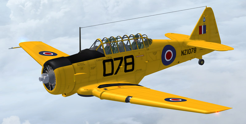 Virtavia Texan Harvard NZ1078