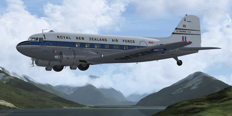 Manfred Jahn Douglas C47/DC-3 : NZ Warbirds ZK-DAK