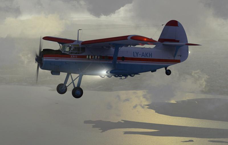 Sibwings Antonov An-2 LY-AKH