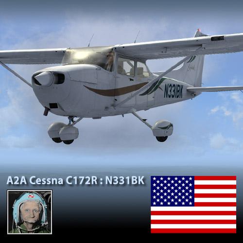 A2A Cessna C172 N331BK