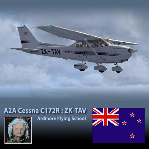 A2A Cessna C172 ZK-TAV
