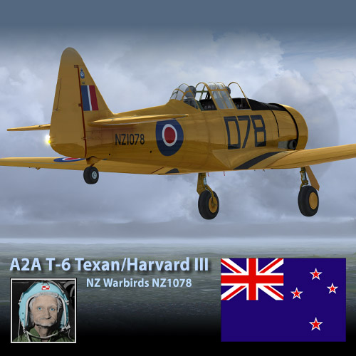 A2A T-6 Texan/Harvard III NZ1078