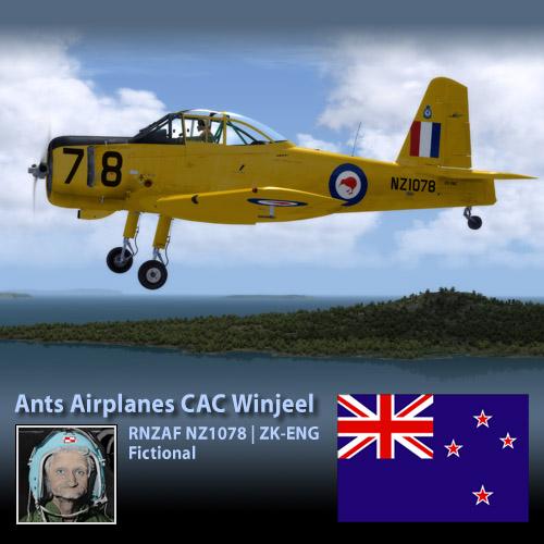 Ants CAC Winjeel NZ1078