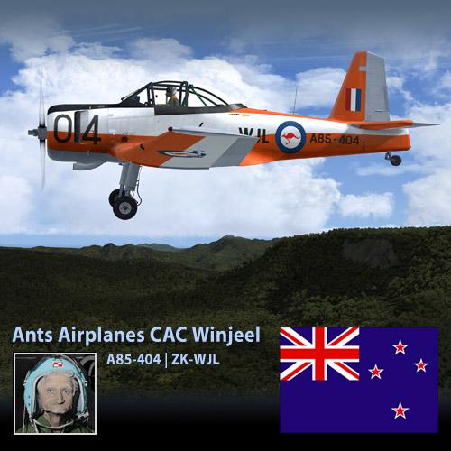 Ants CAC Winjeel ZK-WJL