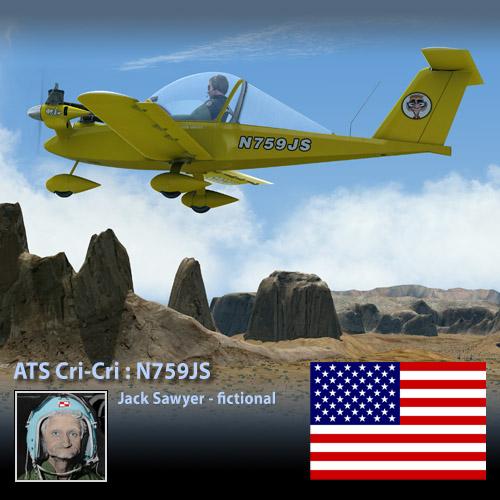 ATS Cri-Cri : Jack Sawyer N759JS