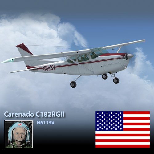 Carenado C182RGII Cutlass N6113V