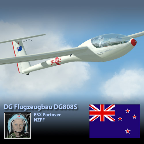 MS DG808S for P3D : NZFF