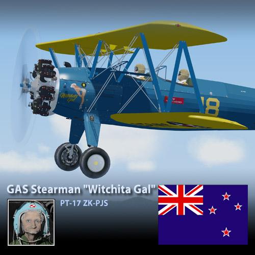 Boeing Stearman PT-17 'Witchita Gal'