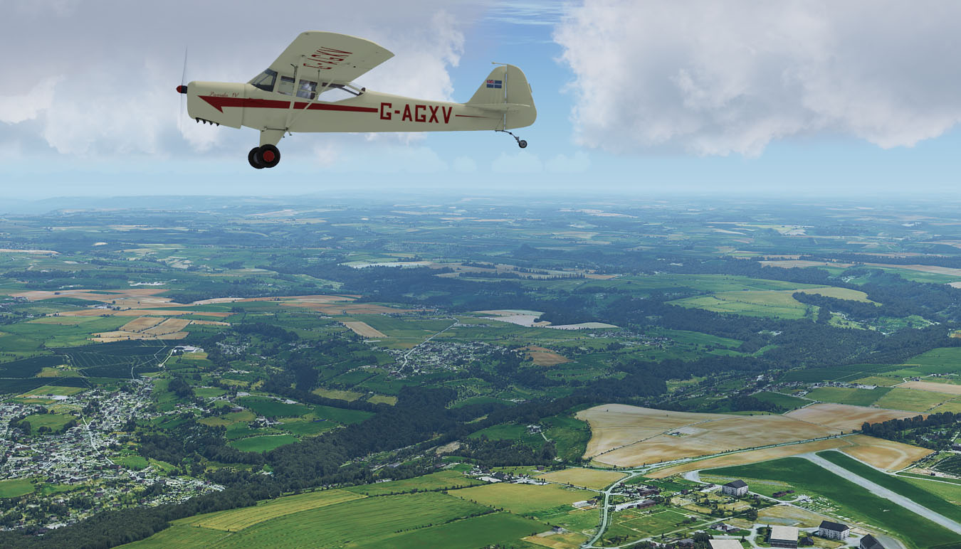 Envshade Presets : Auster over Gloucestershire ORBX TEGBS