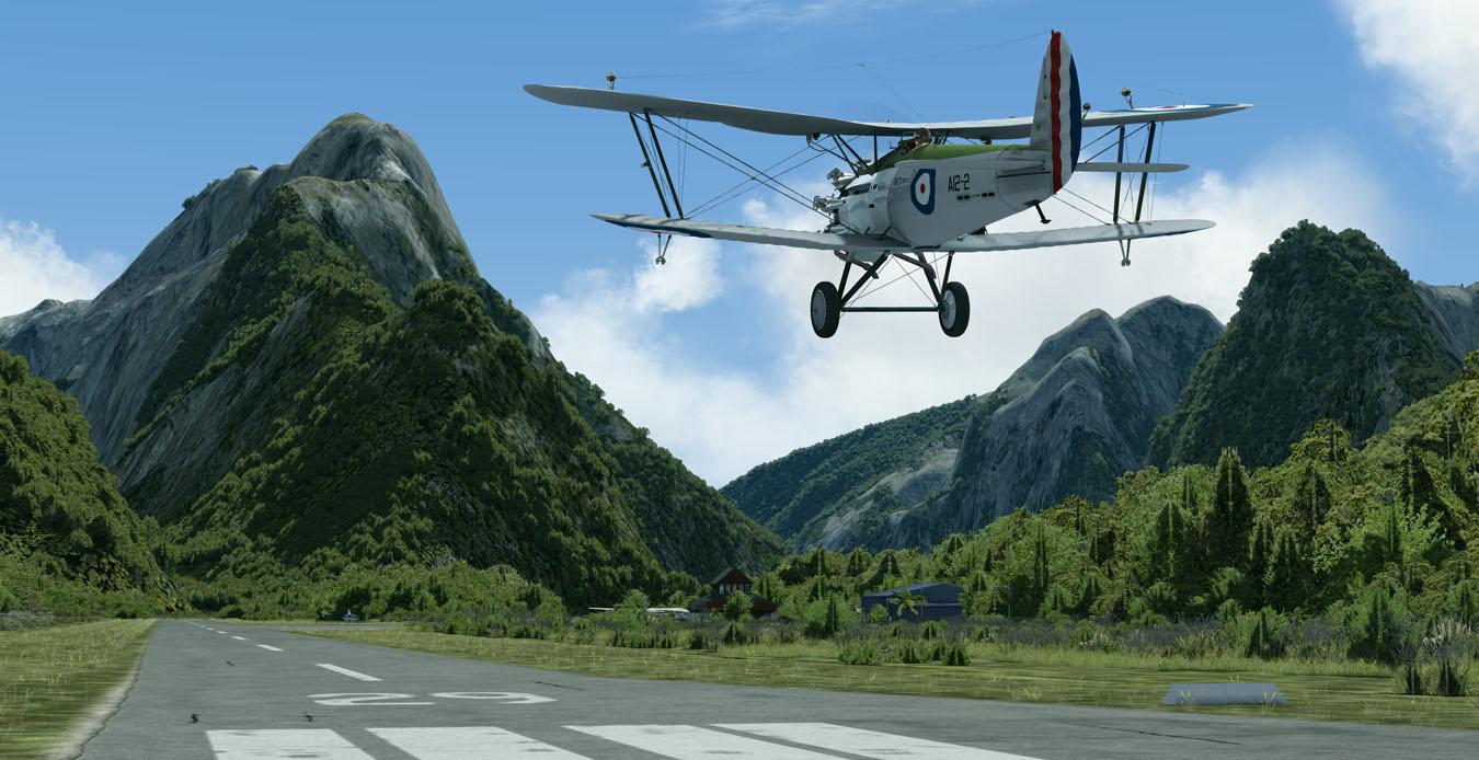 Avro 621 : Milford Sound - NZMF
