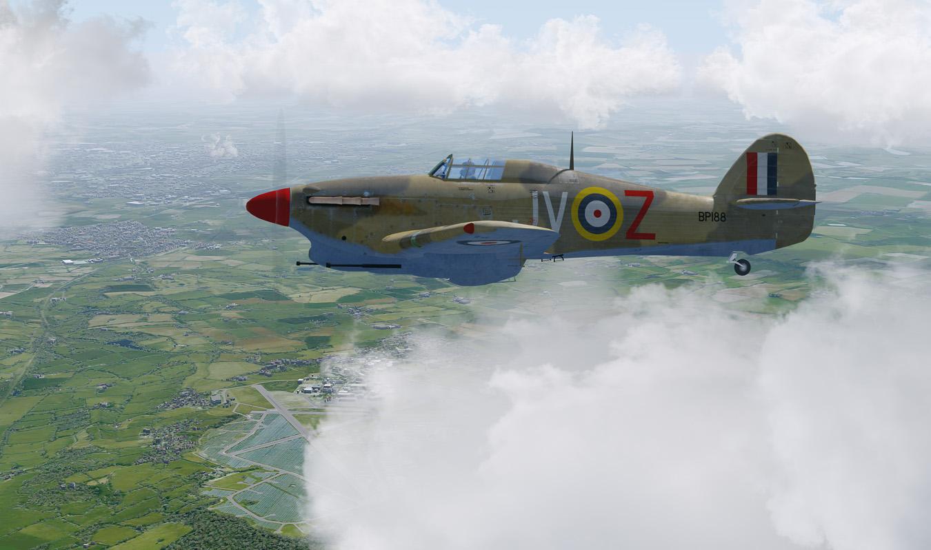 Hurricane - RAF Kemble
