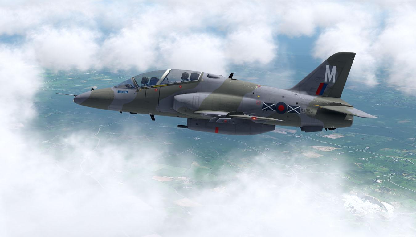 JF Hawk over Wales: ORBX TEGB