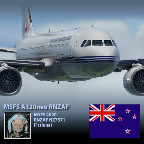 A320neo RNZAF NZ7571