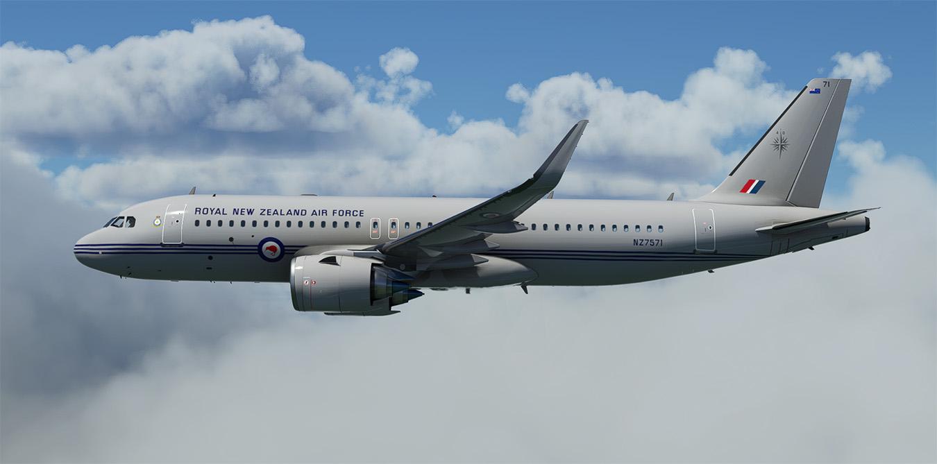 A320neo RNZAF NZ7571 02
