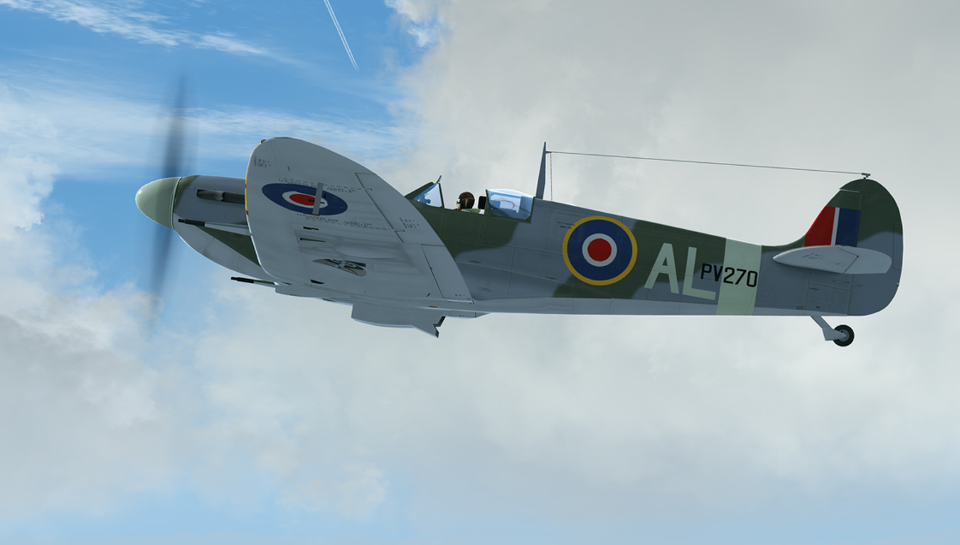 Repaint: A2A MkII Spitfire : PV270