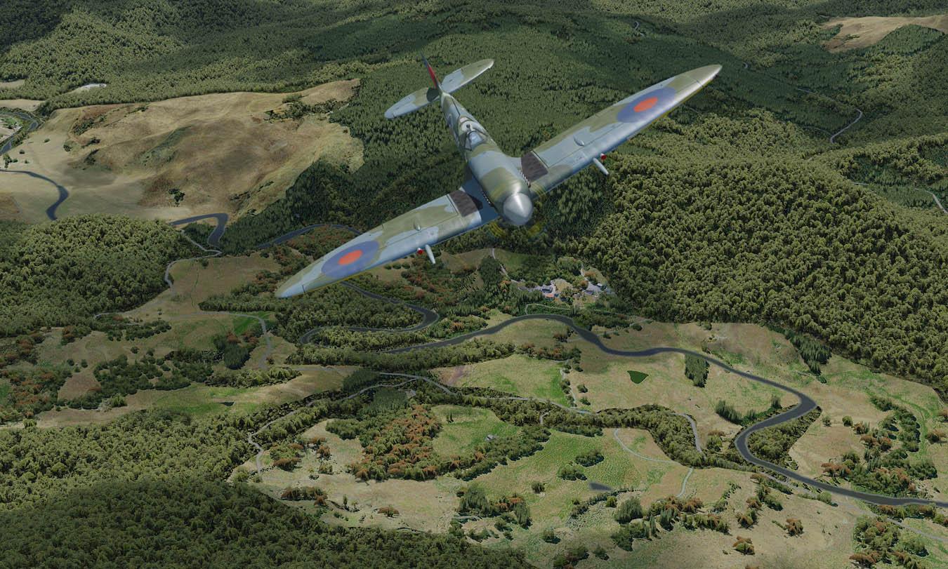 Tomatoshade Presets : Spitfire MkV, ORBX ENG